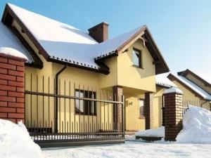 automatyczna brama wjazdowa - wiśniowski